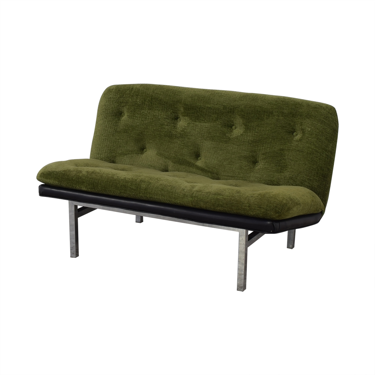 buy Tufted Modernist Loveseat