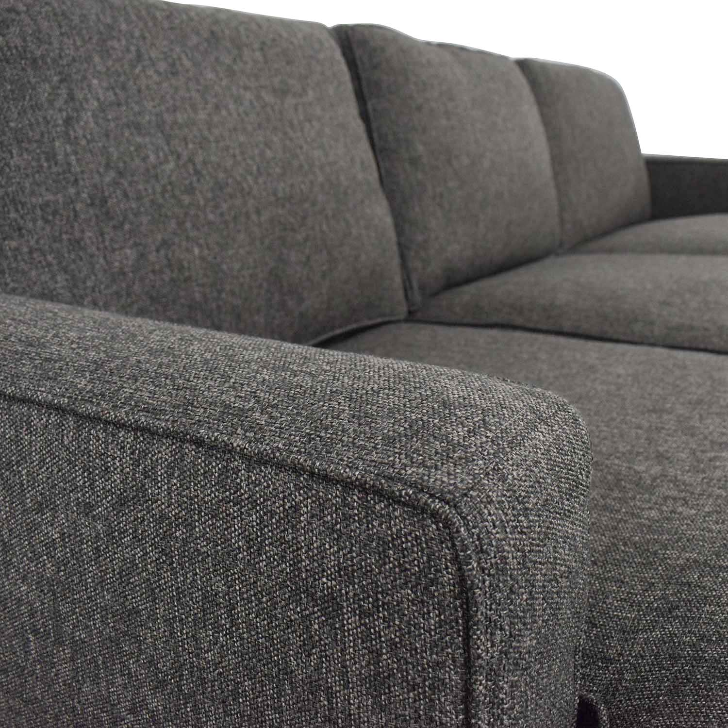 Room & Board Room & Board Morrison Sofa with Left-Arm Chaise dimensions