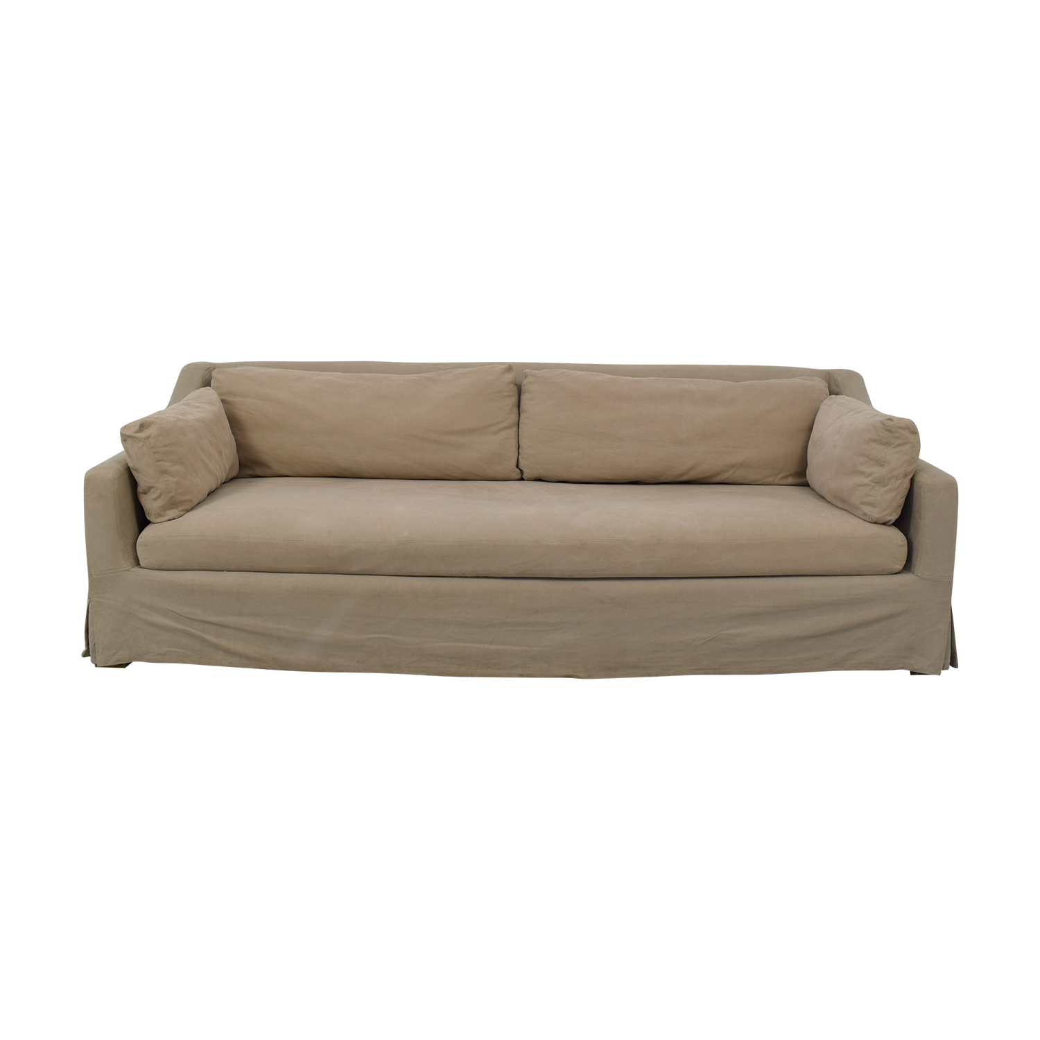 Restoration Hardware Slipcover Sofa Restoration Hardware