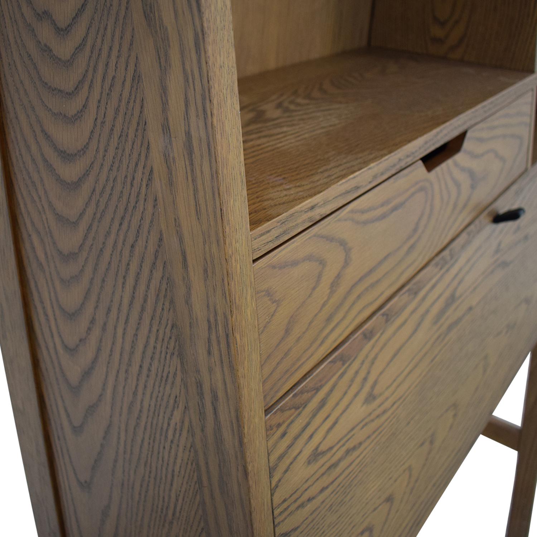 buy Crate & Barrel Desk Crate & Barrel Home Office Desks