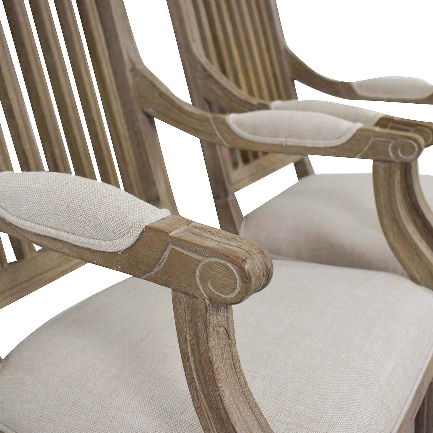 Restoration Hardware Restoration Hardware Spindle Back Dining Chairs second hand