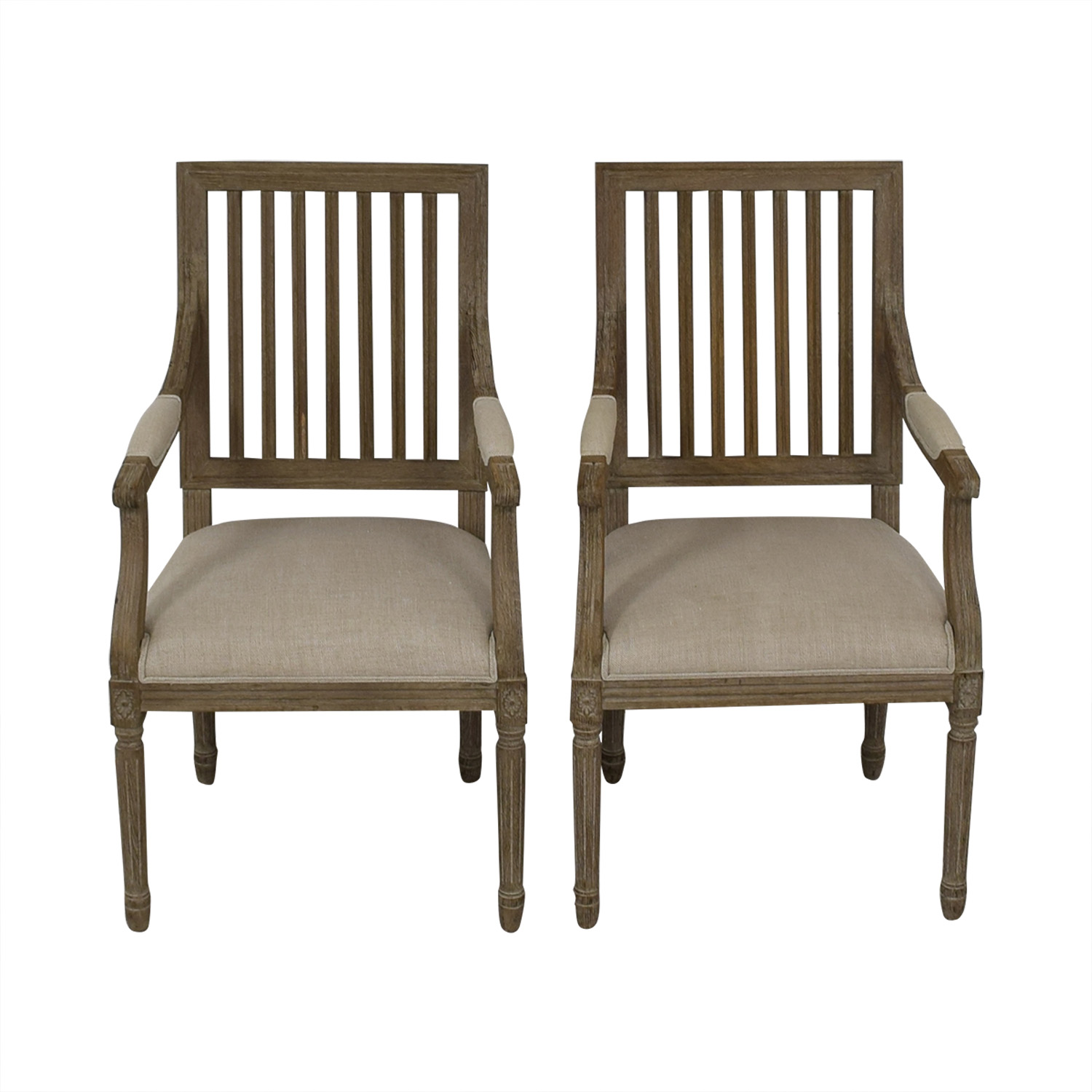 Restoration Hardware Restoration Hardware Spindle Back Dining Chairs used