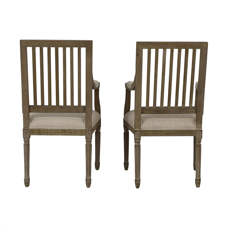 buy Restoration Hardware Spindle Back Dining Chairs Restoration Hardware
