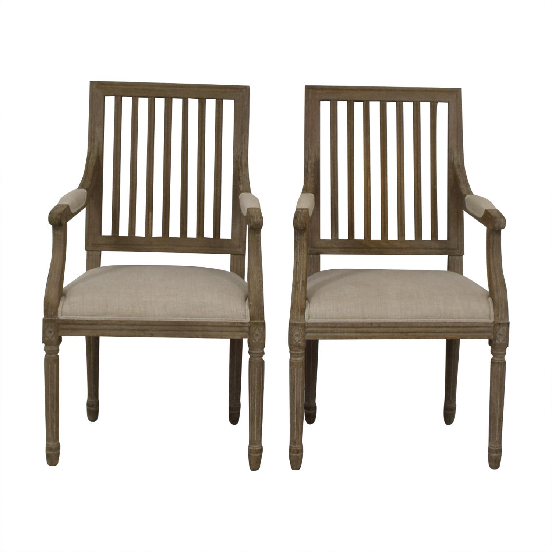 shop Restoration Hardware Spindle Back Dining Chairs Restoration Hardware Chairs