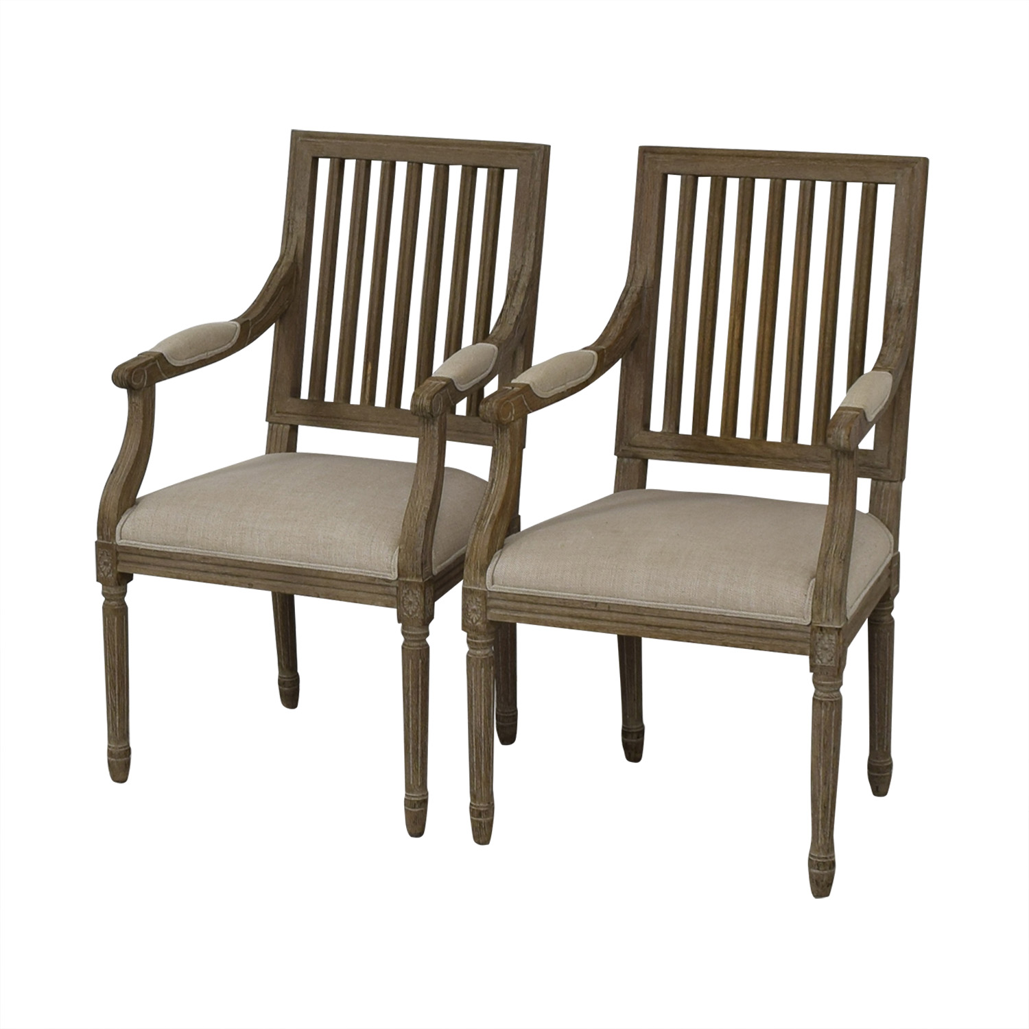Restoration Hardware Restoration Hardware Spindle Back Dining Chairs price