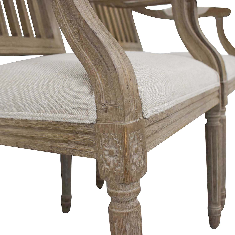 shop Restoration Hardware Spindle Back Dining Chairs Restoration Hardware
