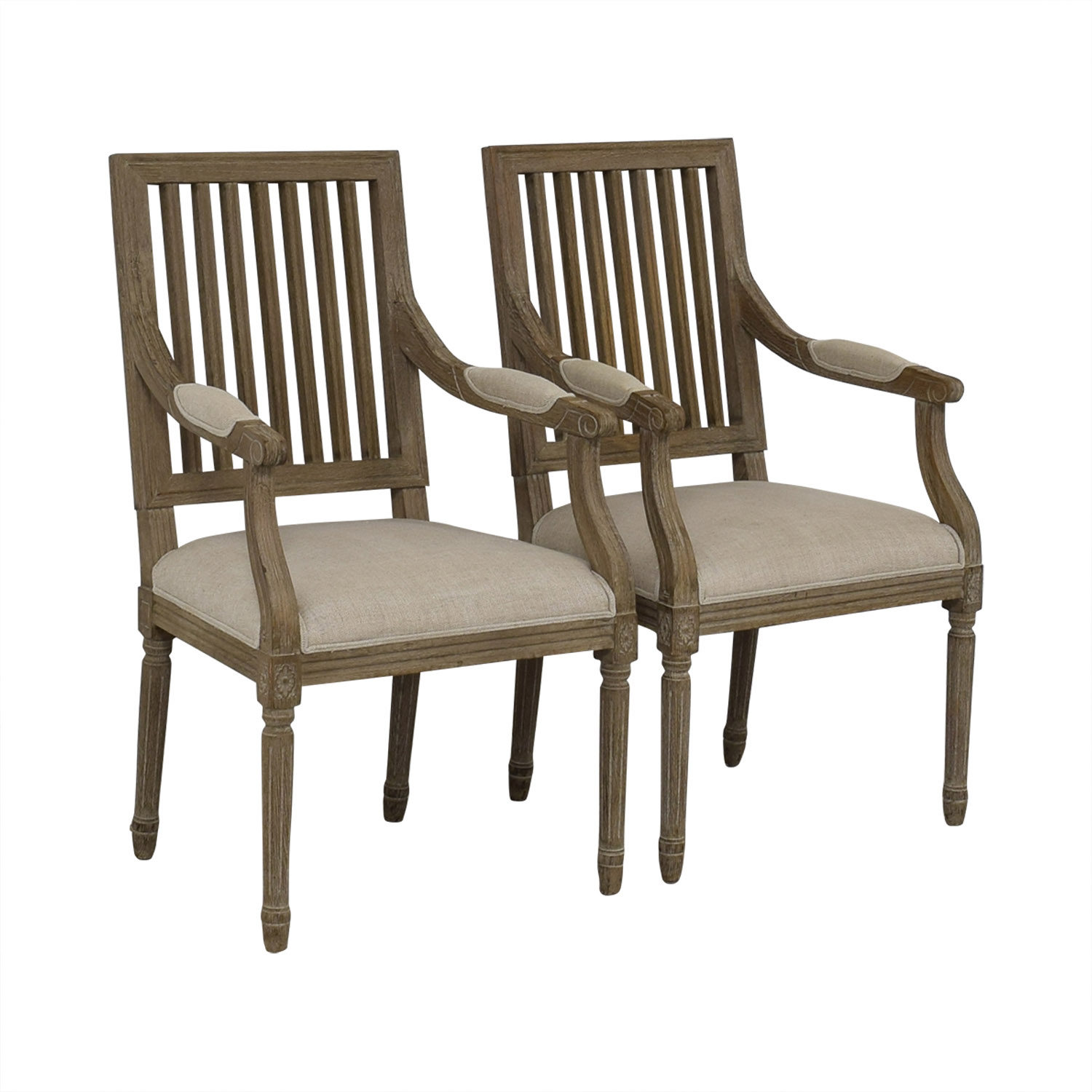 buy Restoration Hardware Restoration Hardware Spindle Back Dining Chairs online