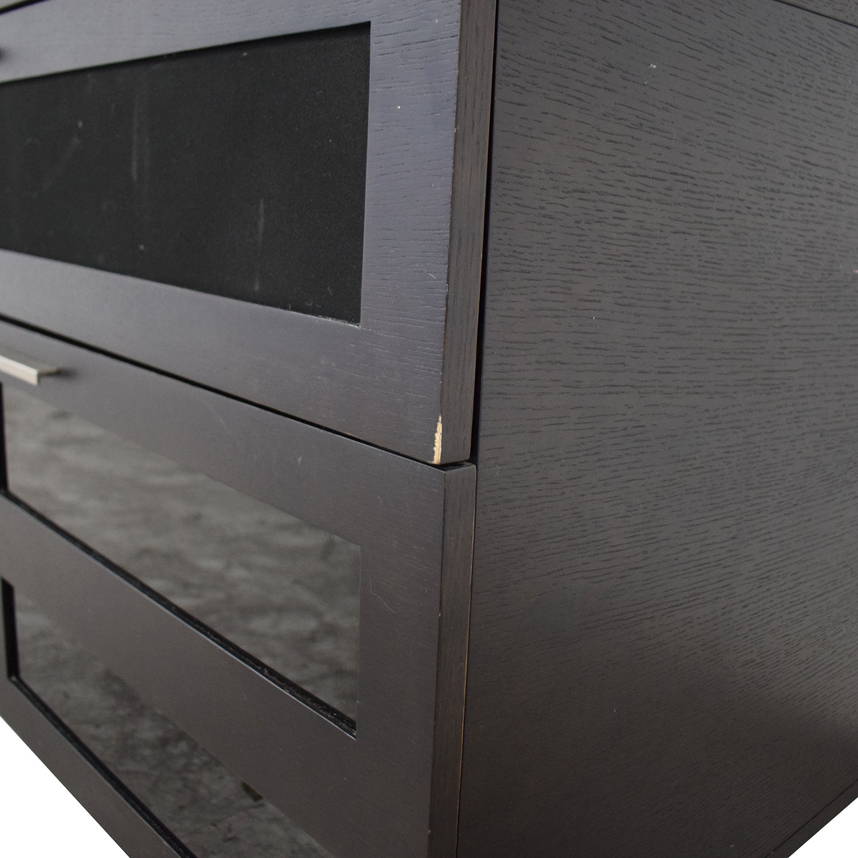 BDI Furniture BDI Furniture Avion Media Cabinet black