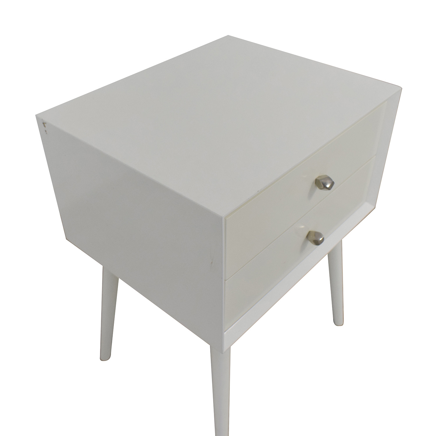 shop West Elm Mid-Century Nightstand West Elm End Tables