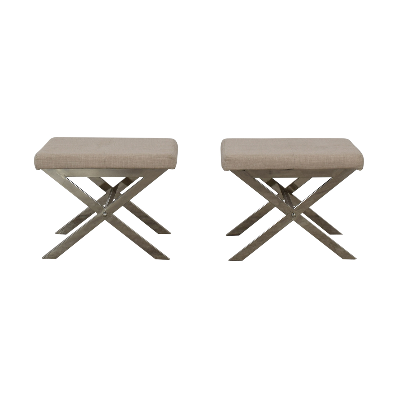 75 Off Williams Sonoma William Sonoma Bar Stools Chairs