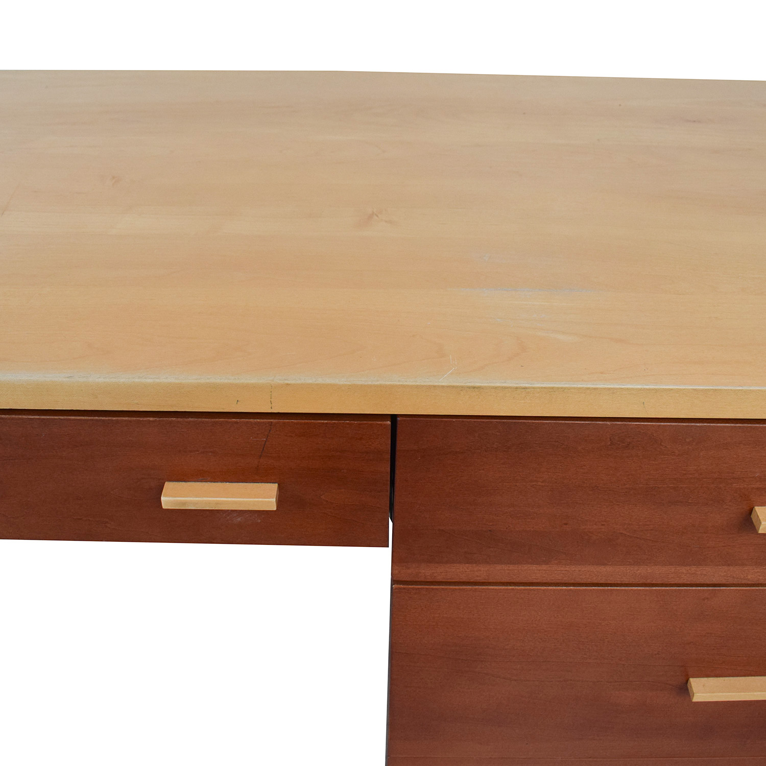 Cherrywood and Maple Desk on sale