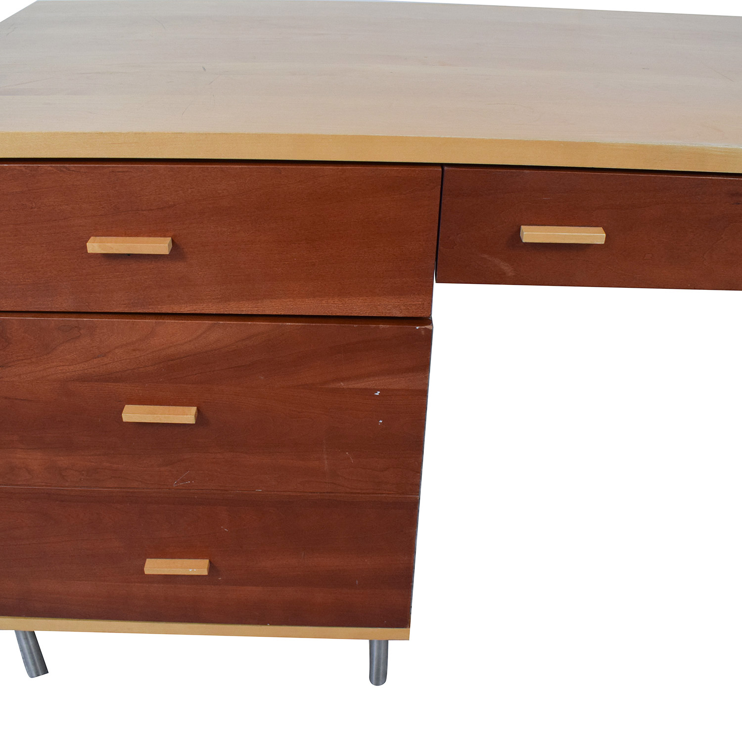buy Cherrywood and Maple Desk  Home Office Desks