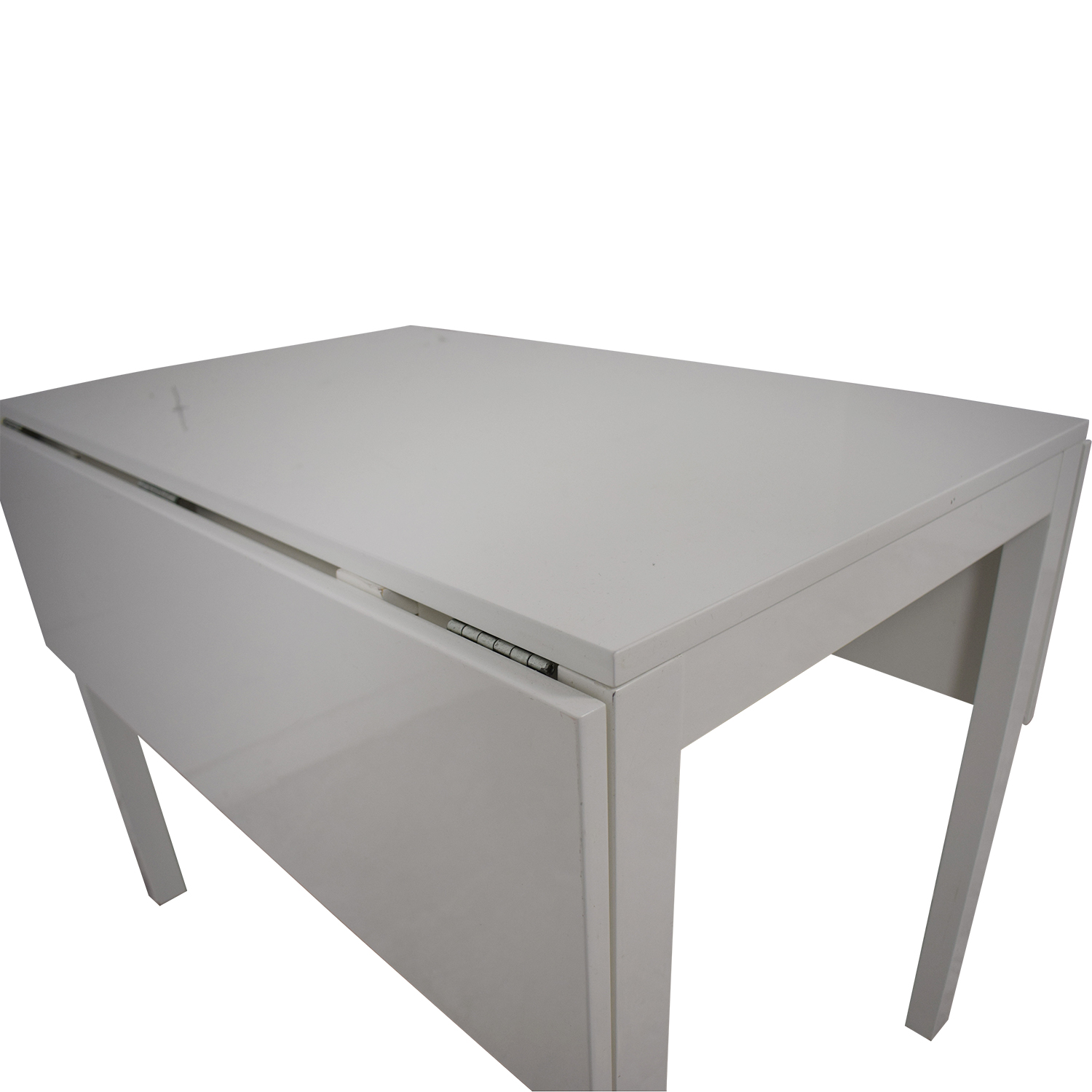 shop CB2 Drop Leaf Table CB2 Storage