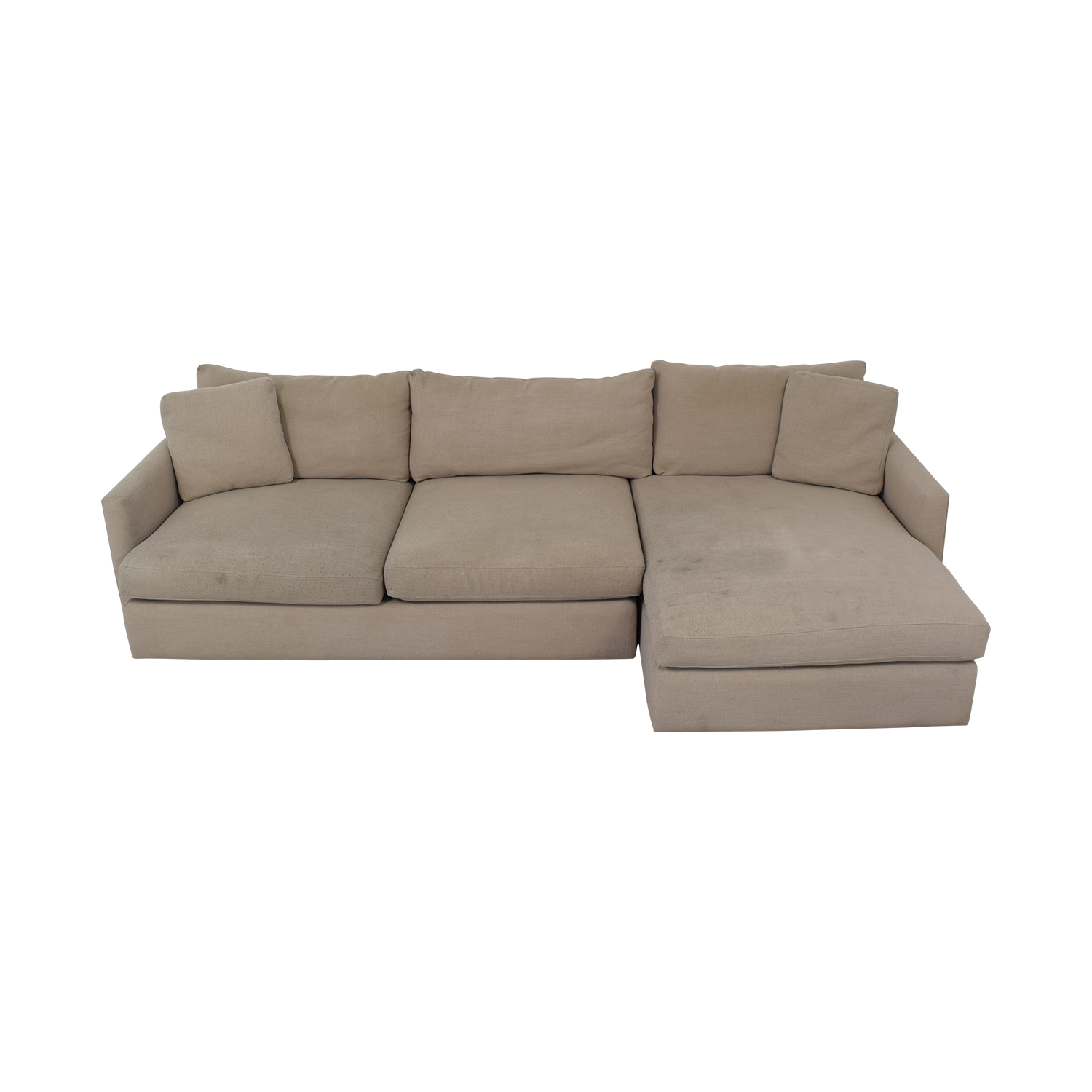 Crate & Barrel Sectional Sofa / Sectionals