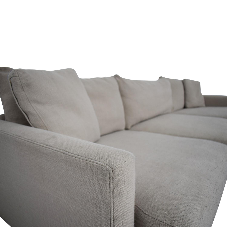 Crate & Barrel Crate & Barrel Sectional Sofa Sofas