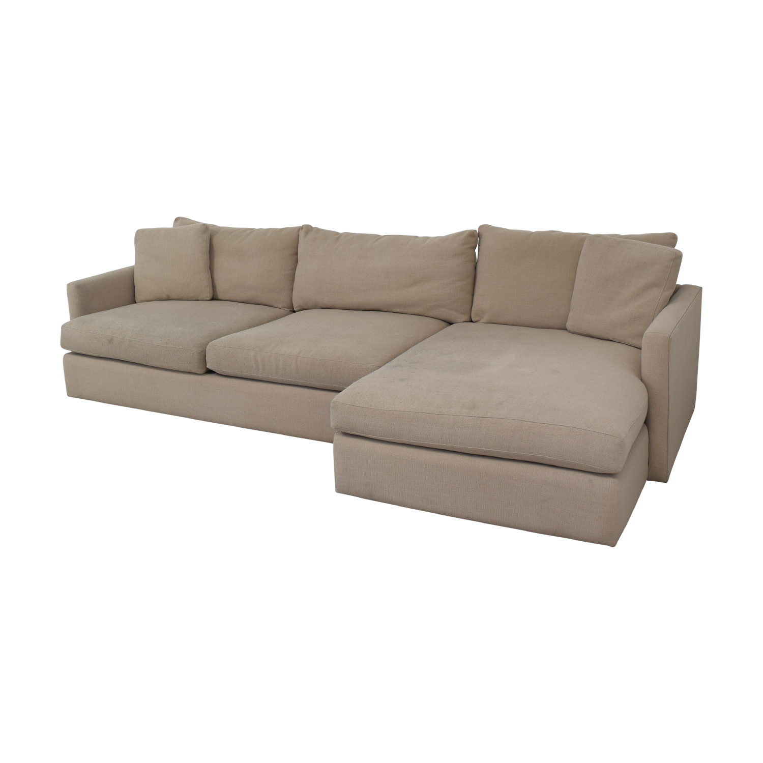 Crate & Barrel Crate & Barrel Sectional Sofa on sale