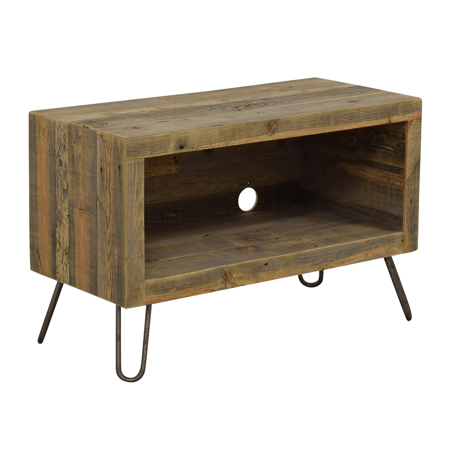 Reclaimed Wood Media Console second hand