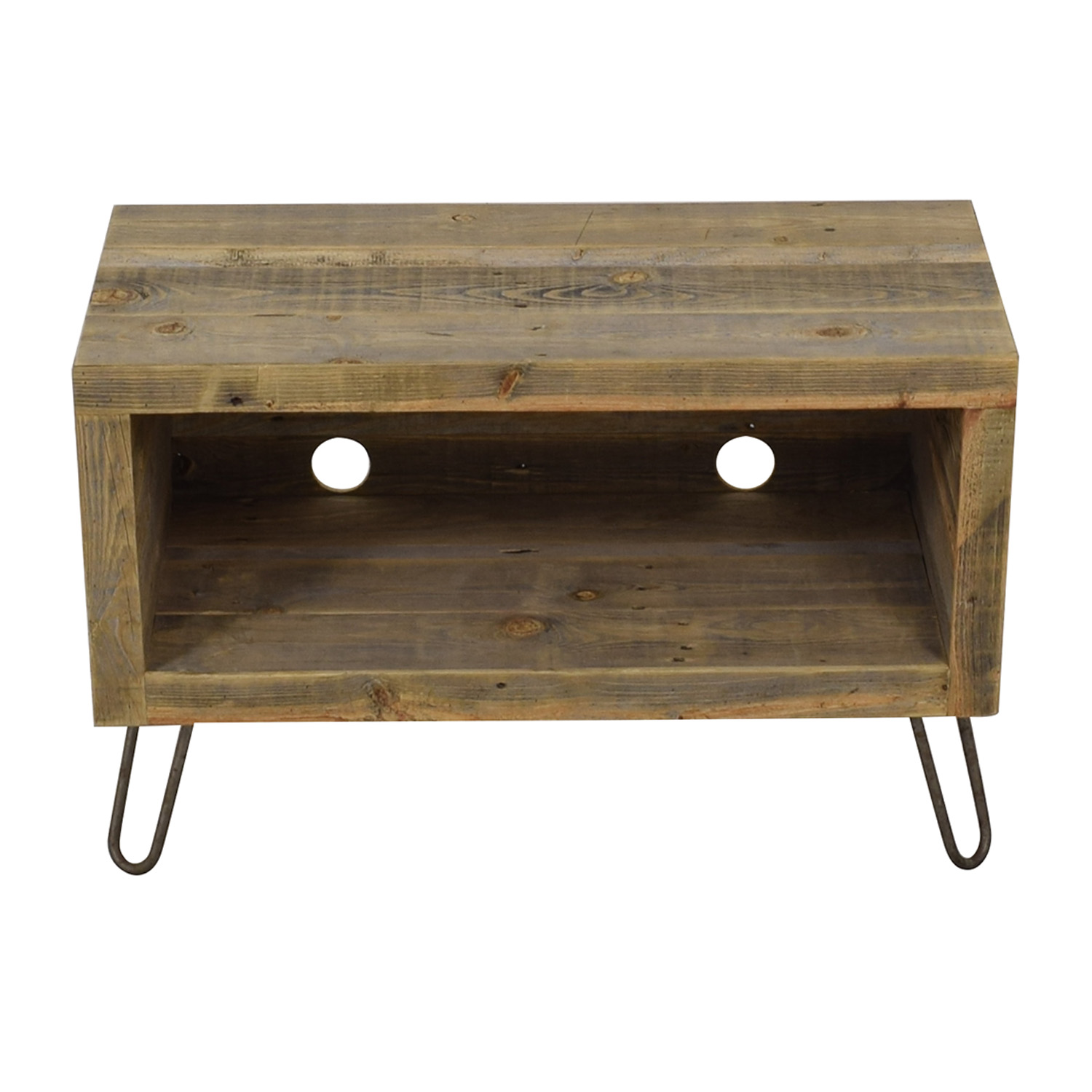 Reclaimed Wood Media Console nyc