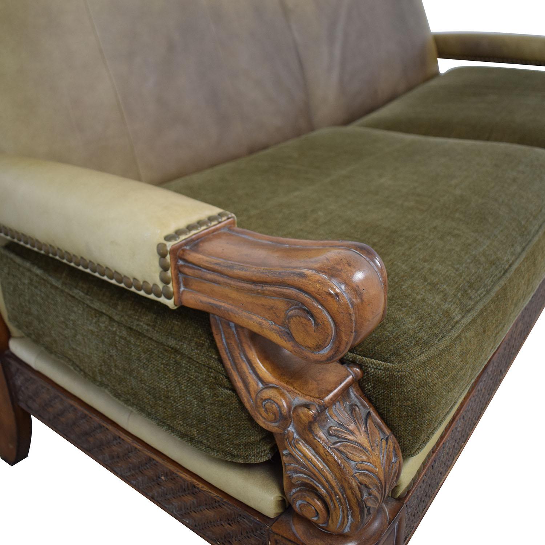 Schnadig Schnadig Two-Cushion Sofa dimensions