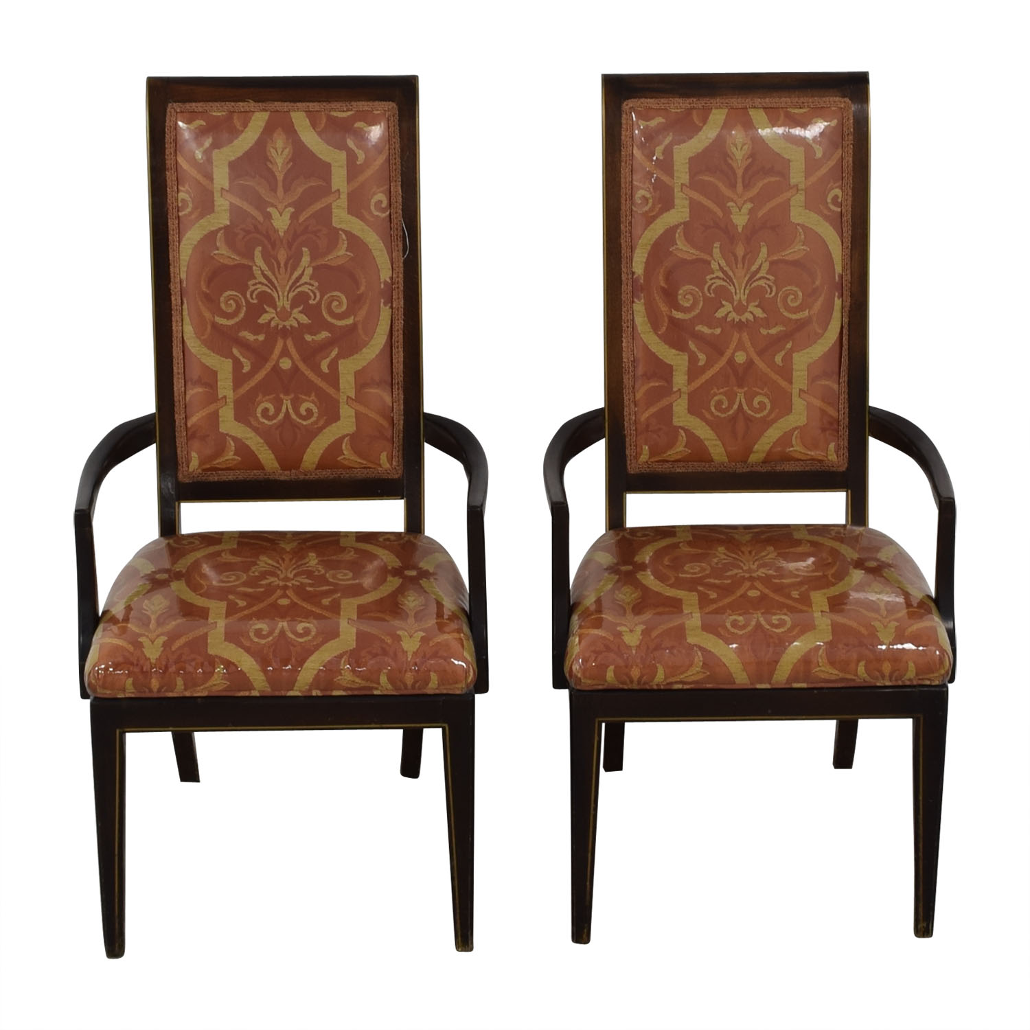 Fabric Dining Armchairs