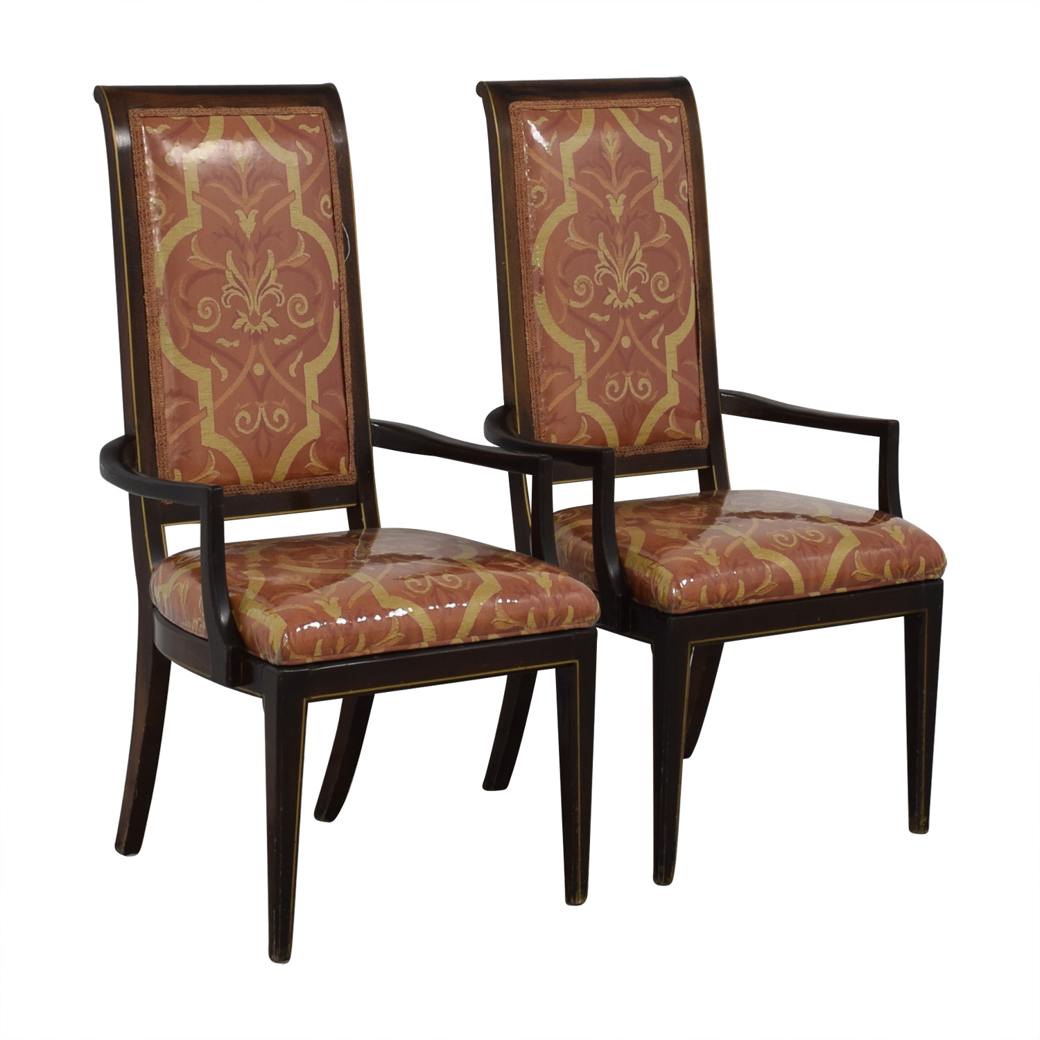 Fabric Dining Armchairs / Dining Chairs