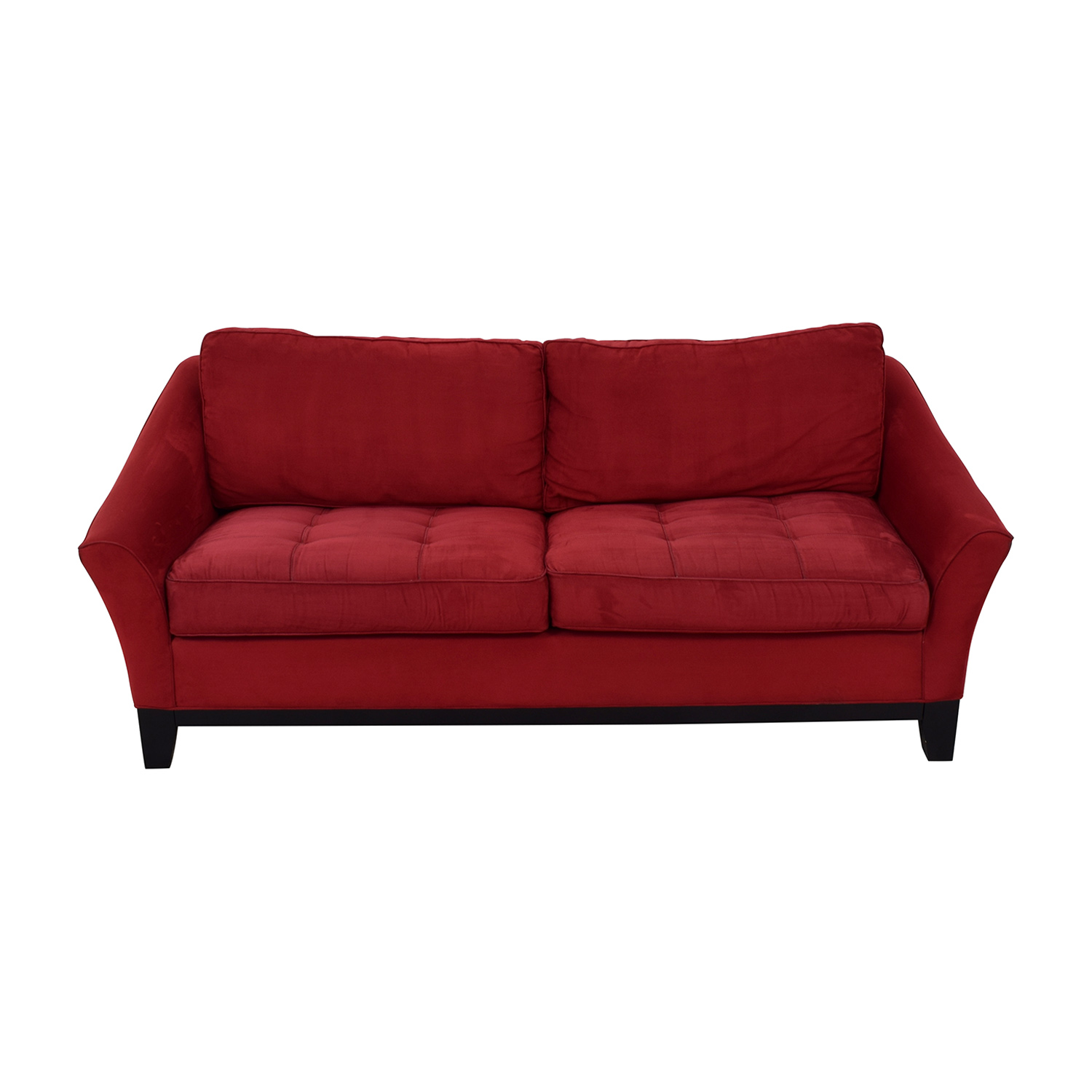 Raymour & Flanigan Raymour & Flanigan Red Sleeper Sofa coupon