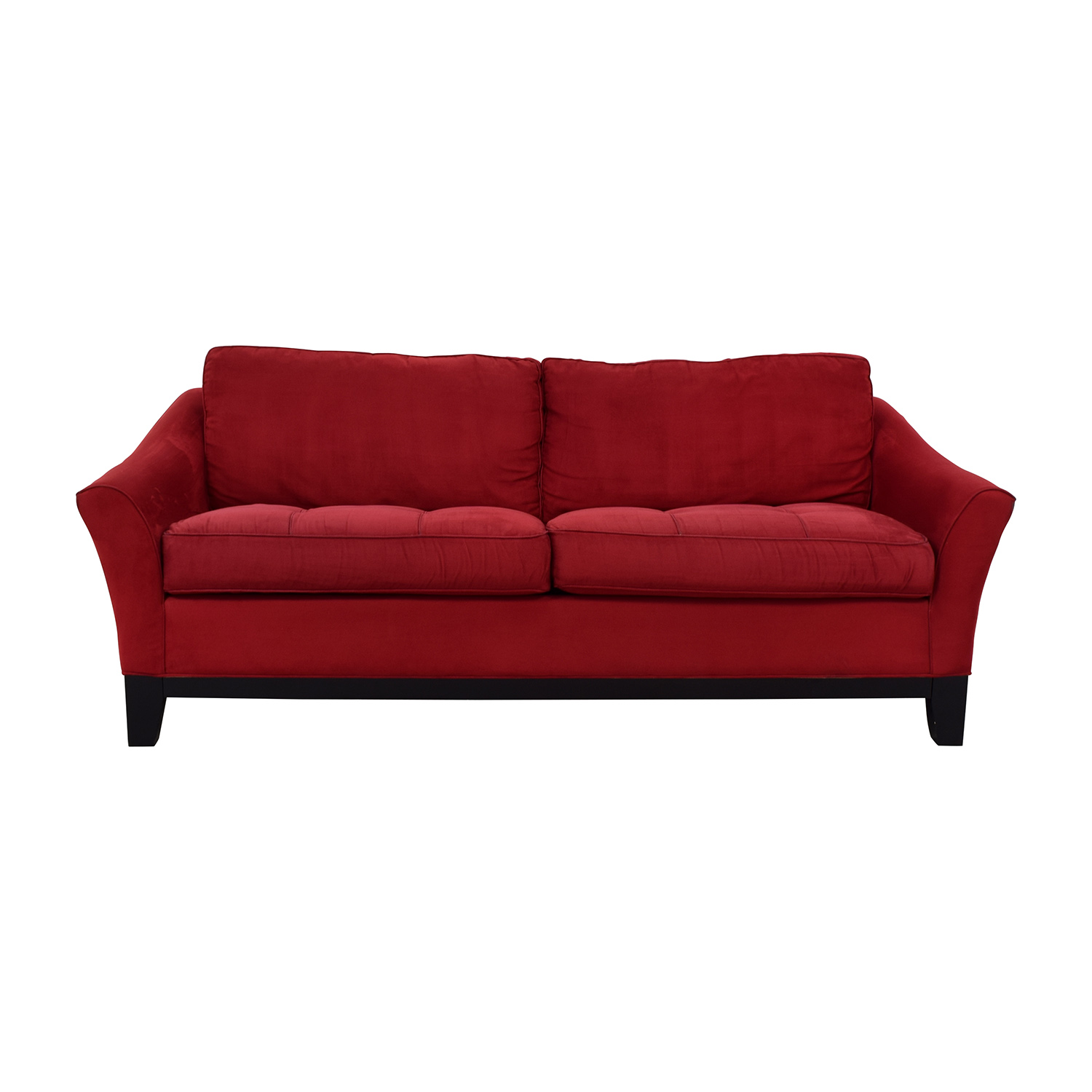 Raymour & Flanigan Red Sleeper Sofa / Sofas