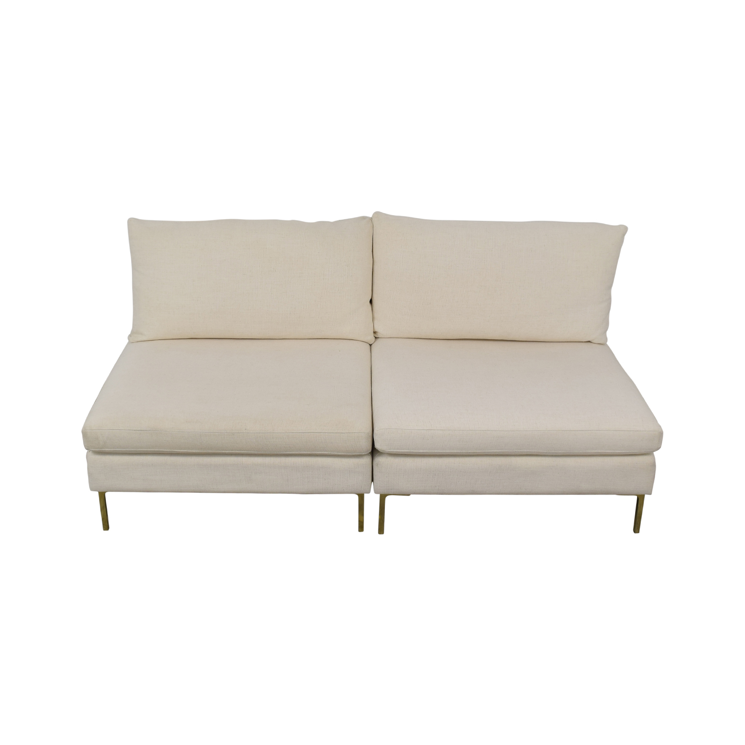 shop Anthropologie Anthropologie Armless Sofa online