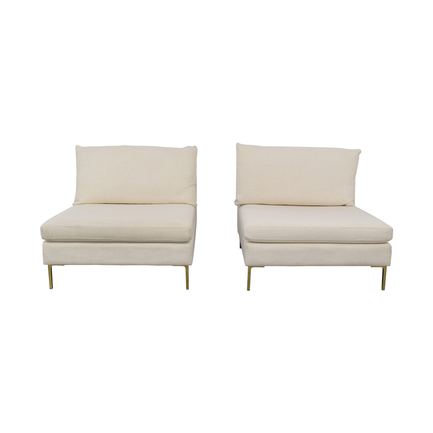 Anthropologie Anthropologie Armless Sofa used
