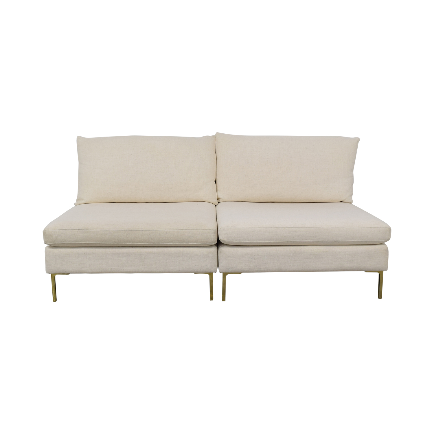 Anthropologie Anthropologie Armless Sofa nyc