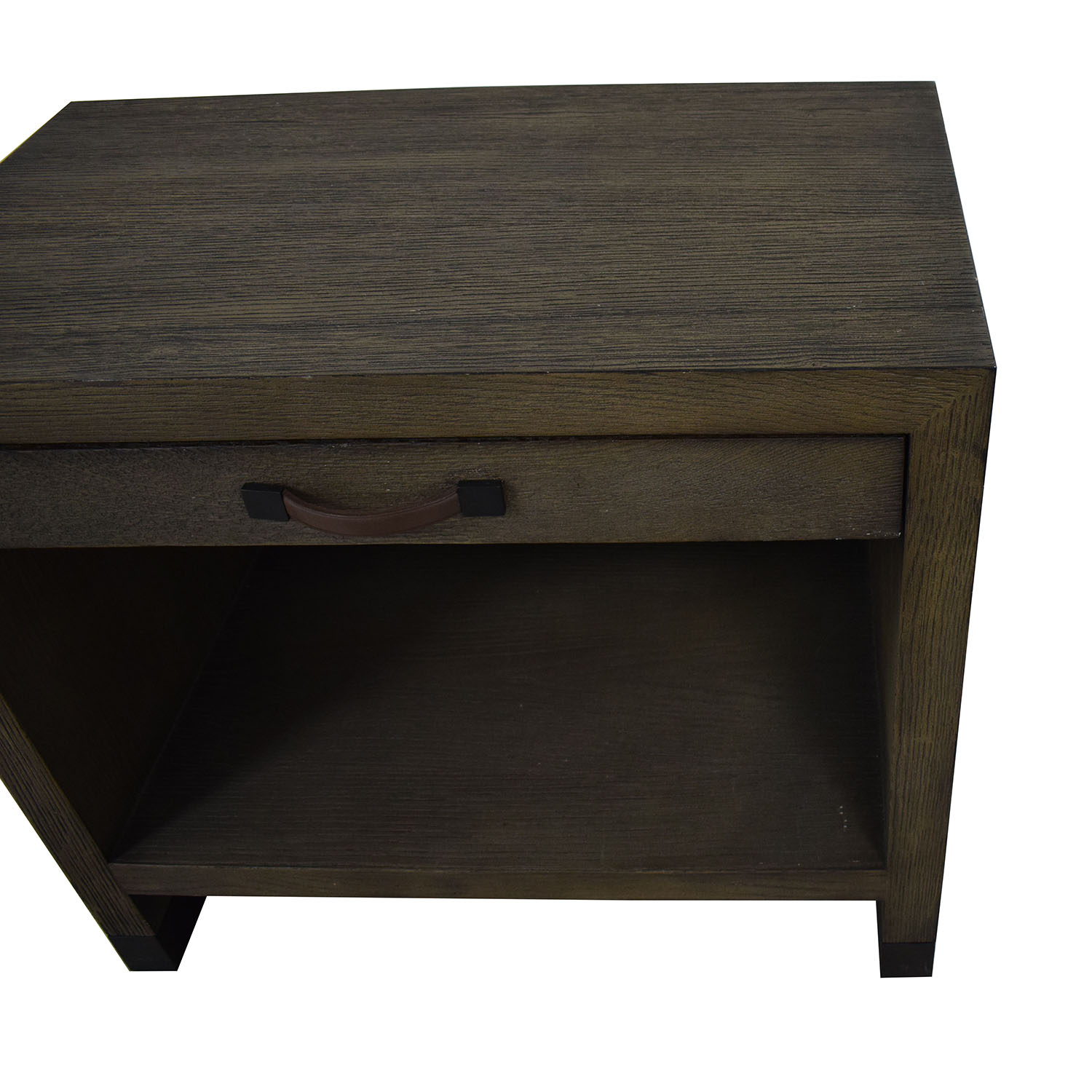 Lillian August Lillian August For Hickory White Conner Grey Nightstand dimensions