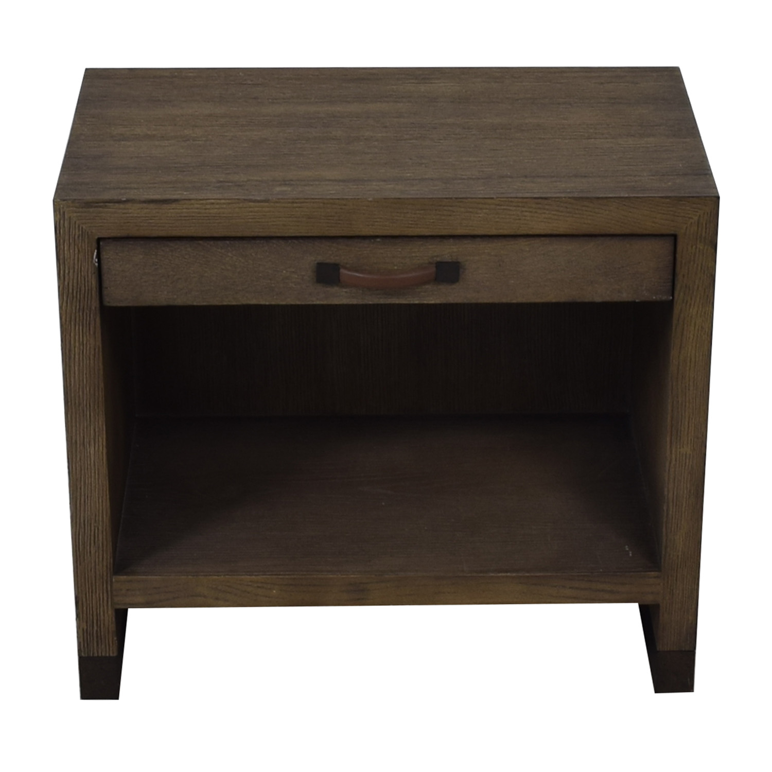 Lillian August Lillian August For Hickory White Conner Grey Nightstand nyc