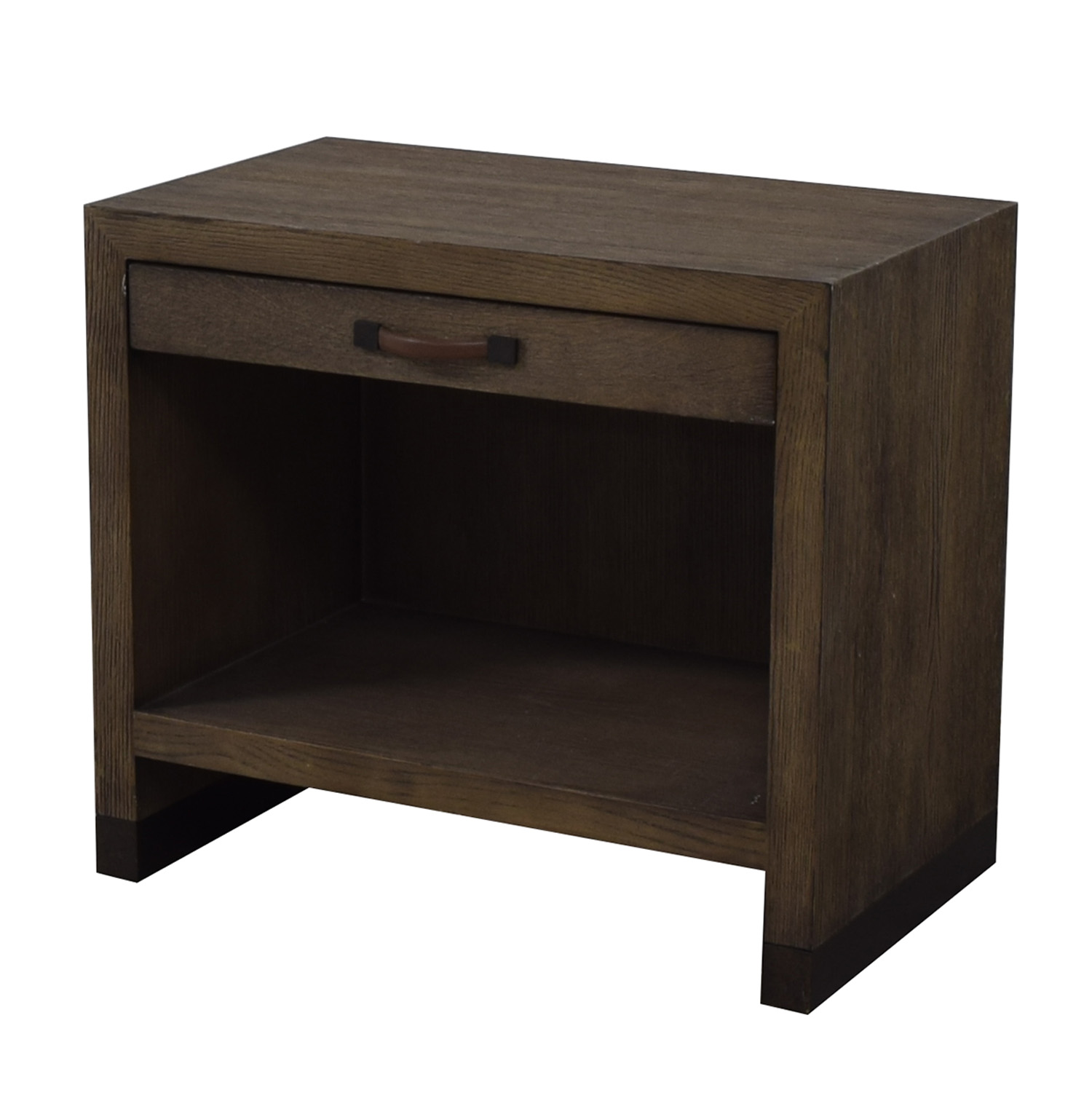Lillian August Lillian August For Hickory White Conner Grey Nightstand brown
