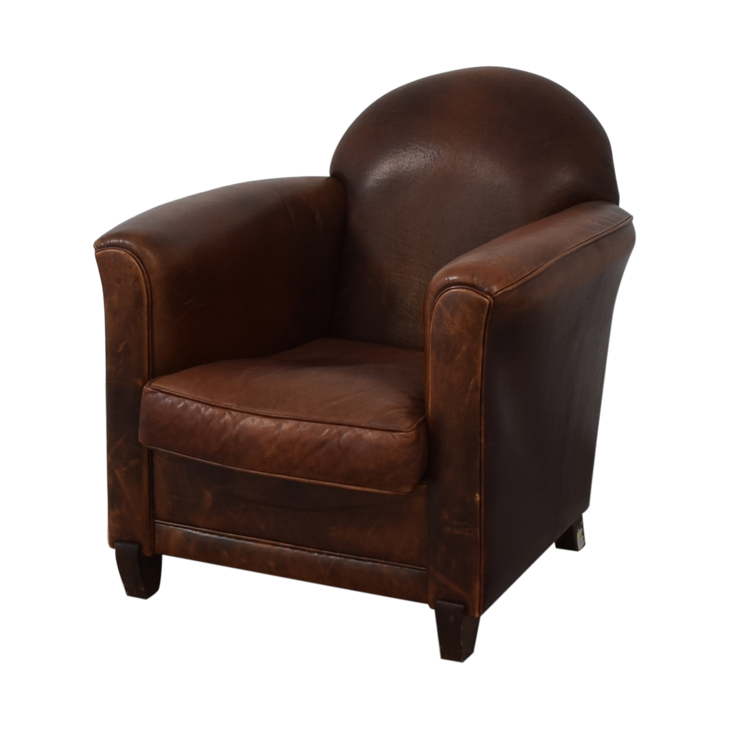 French Leather Club Chair discount