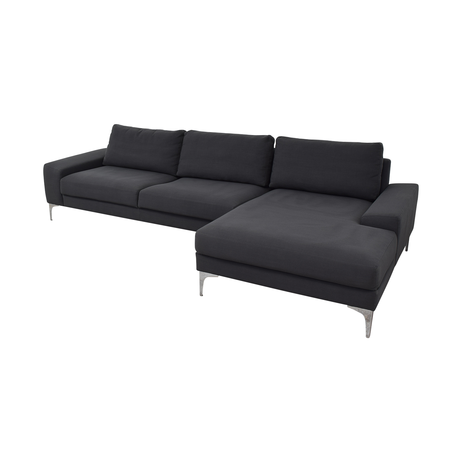 Industry West Industry West Sectional Sofa used