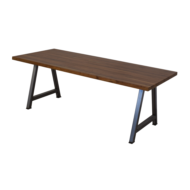 shop Custom Butcher Block Table  Tables