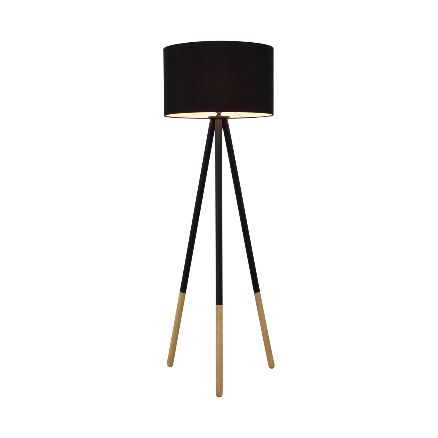 shop AllModern Louise Tripod Floor Lamp AllModern Lamps