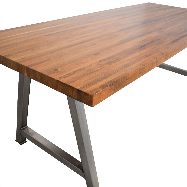 shop Custom Butcher Block Table