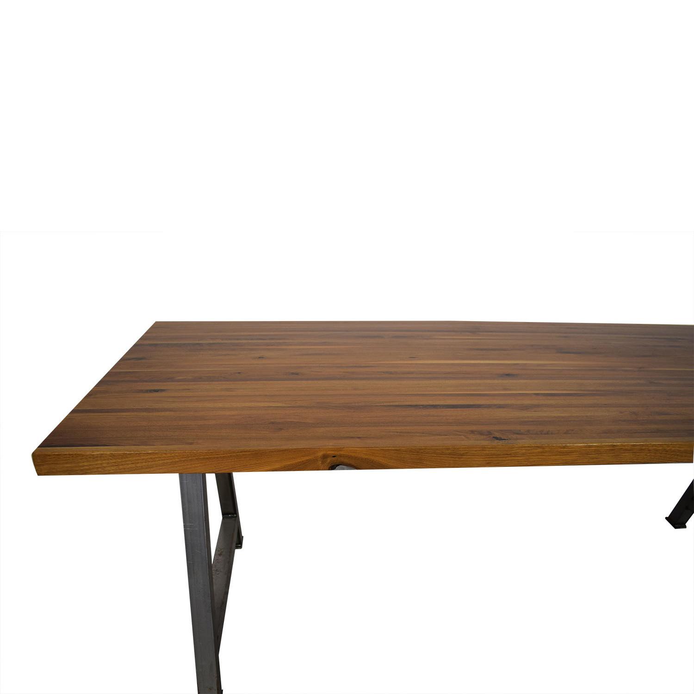 buy Custom Butcher Block Table  Home Office Desks