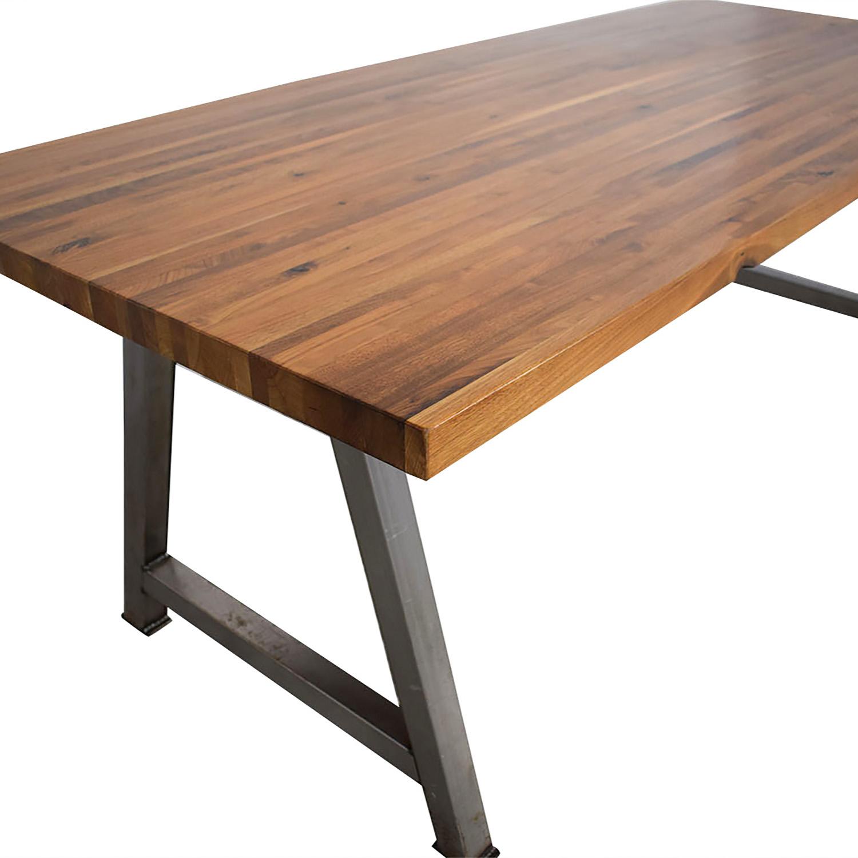 81% OFF   Custom Butcher Block Table / Tables
