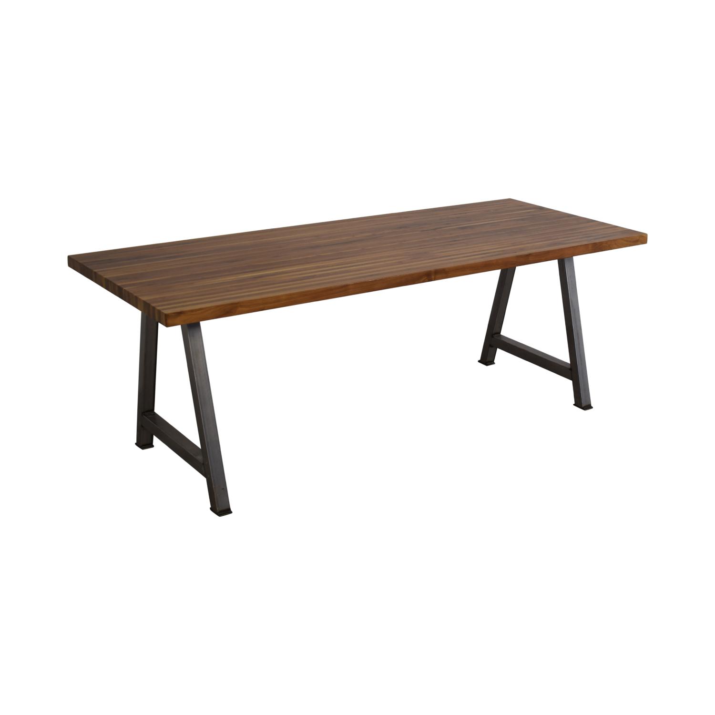 Custom Butcher Block Table