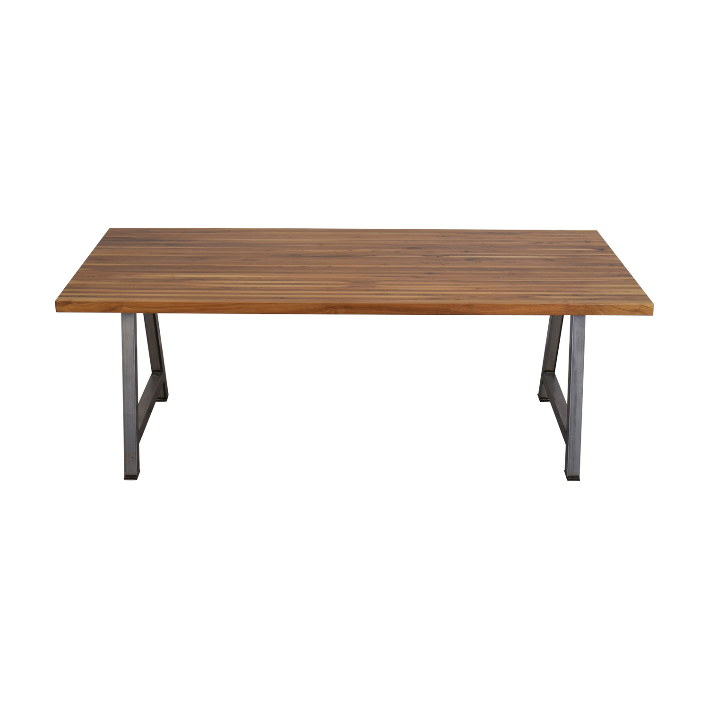 Custom Butcher Block Table dimensions