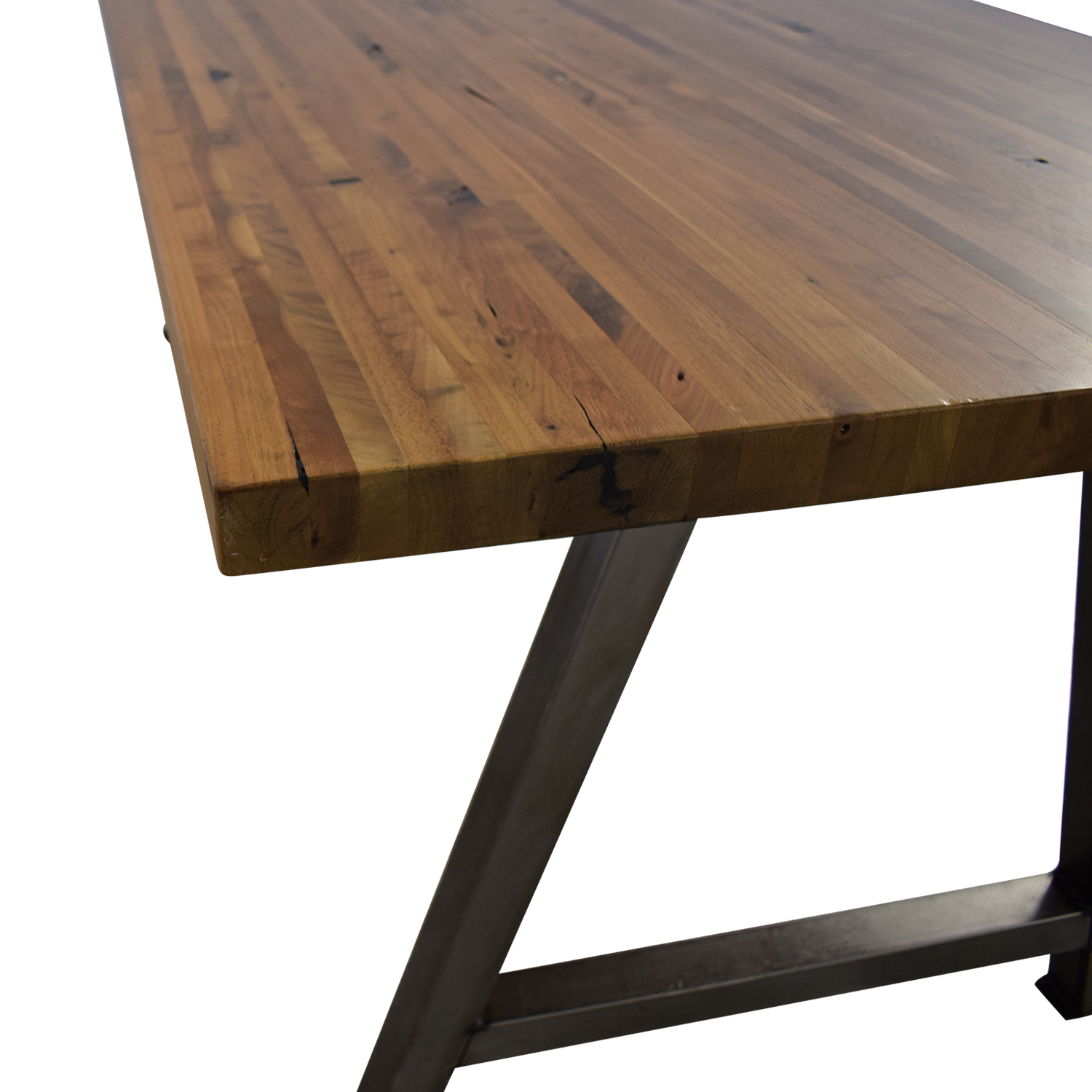 Custom Butcher Block Table Dinner Tables