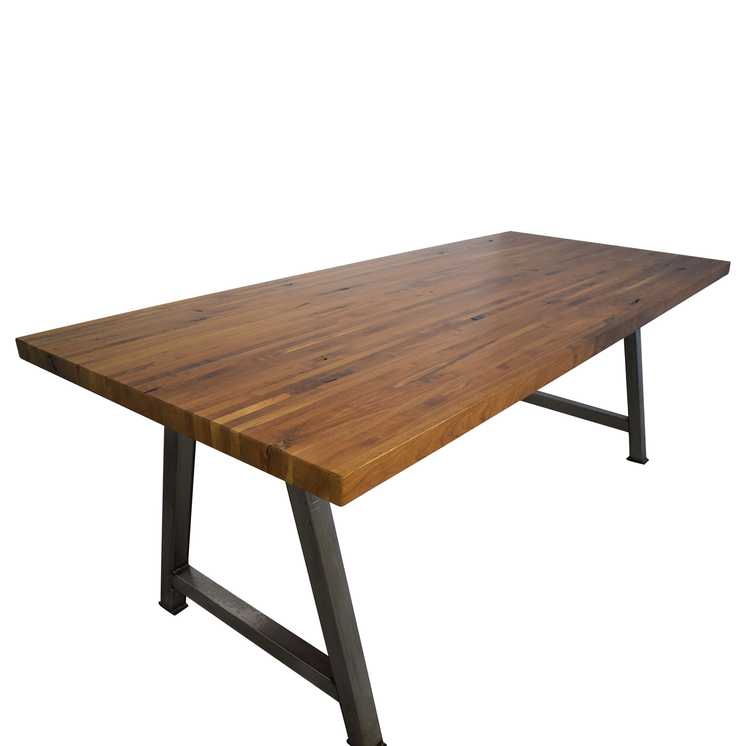 Custom Butcher Block Table on sale