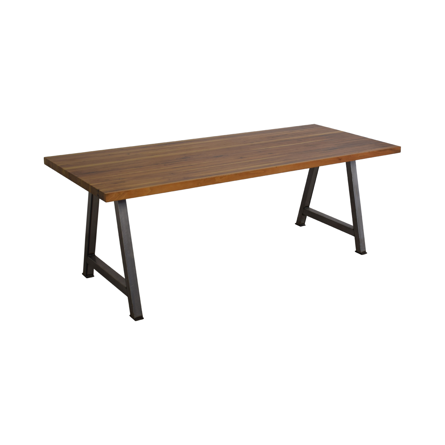 Custom Butcher Block Table second hand