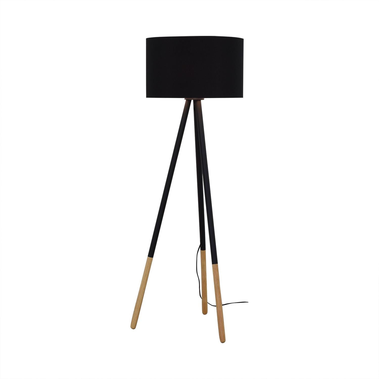 shop AllModern AllModern Louise Tripod Floor Lamp online