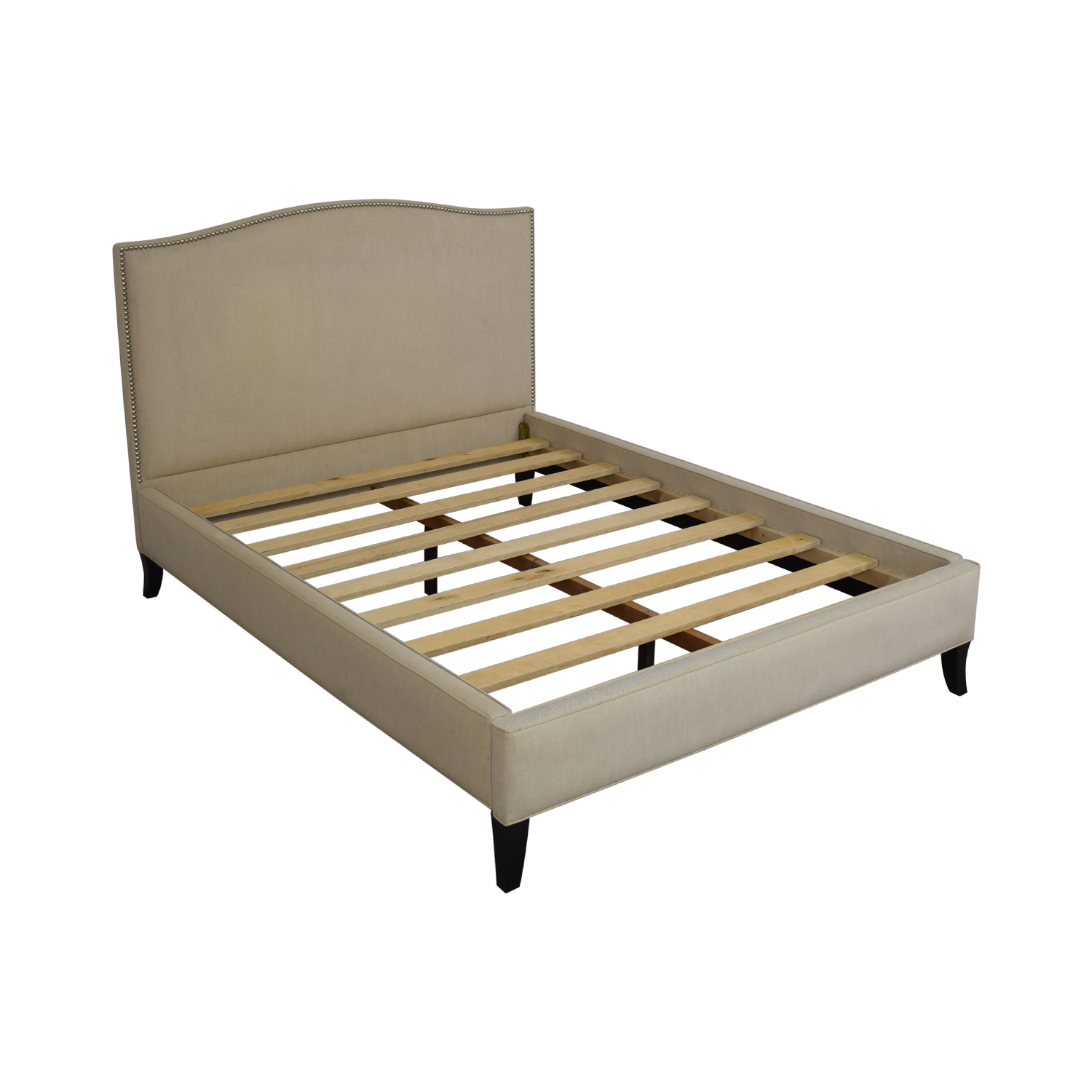 Crate & Barrel Crate & Barrel Colette Queen Upholstered Bed used