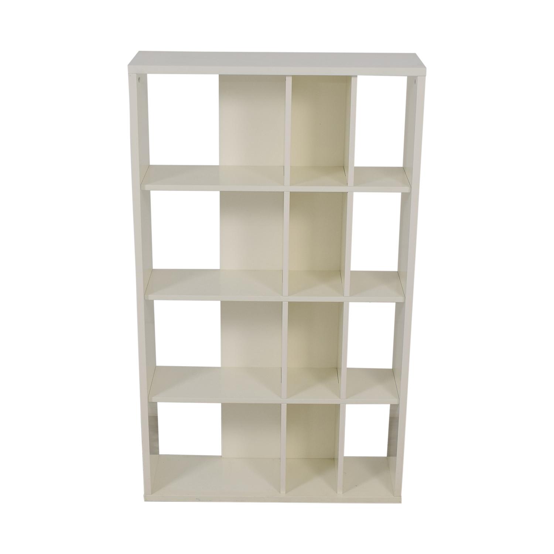shop CB2 CB2 White Bookcase online