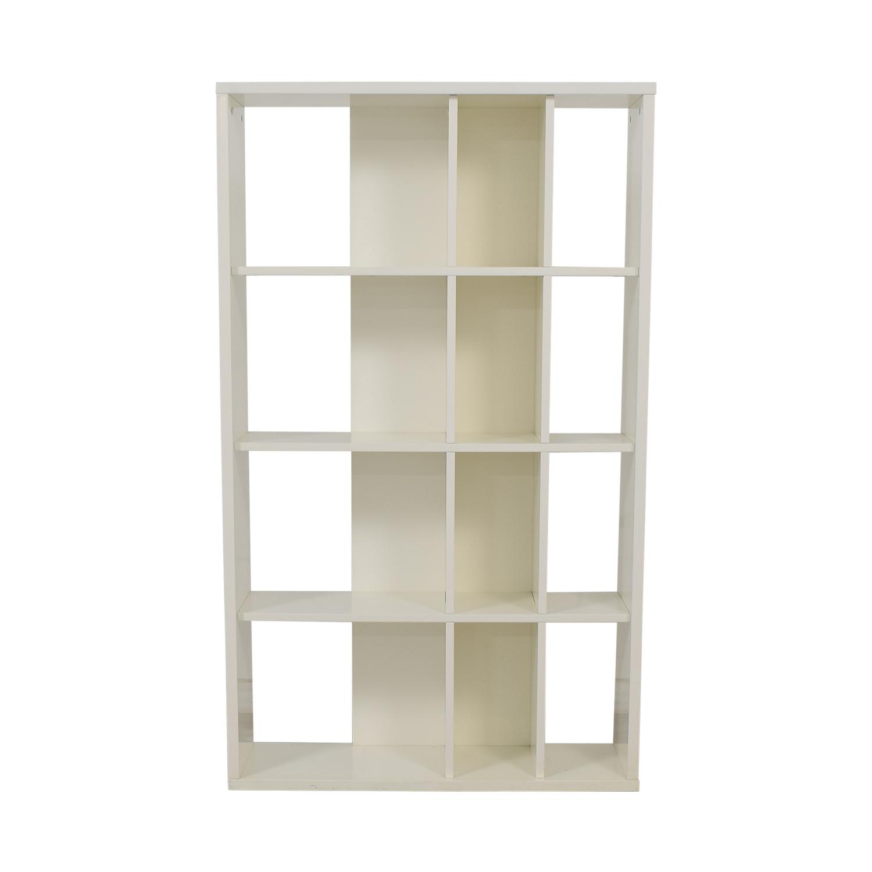 buy CB2 CB2 White Bookcase online