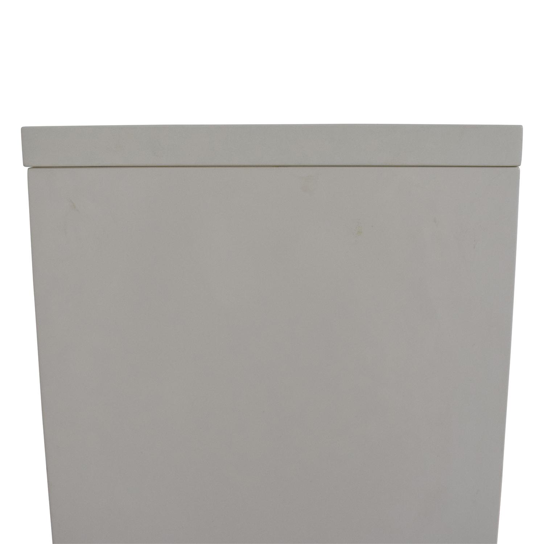 CB2 CB2 White Bookcase dimensions